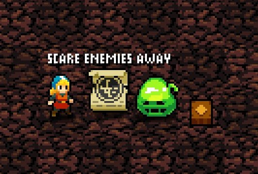 Scroll of Fear and a Confuse Trap