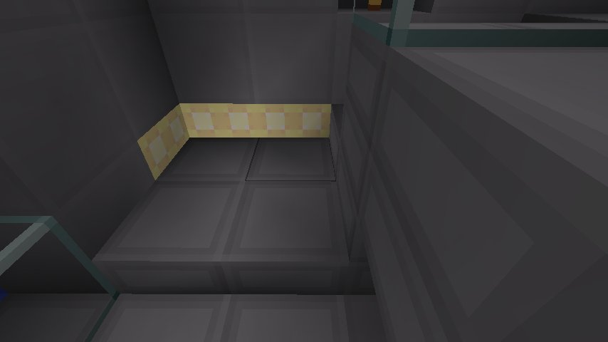 Raise your floor using stone slabs, and place glowstone at the lowest level around the edges, so that only half of it shows