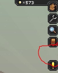 Image of the buttons being missing